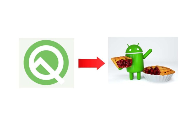 Rollback from Android Q Beta to Android Pie