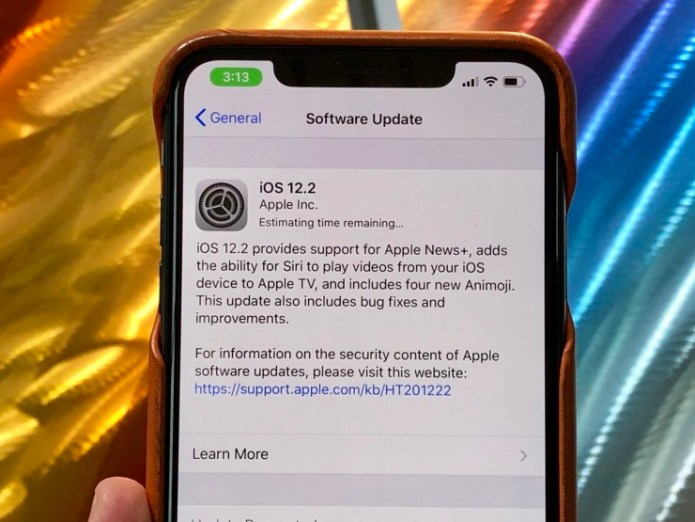 Install iOS 12.2 for Better Security