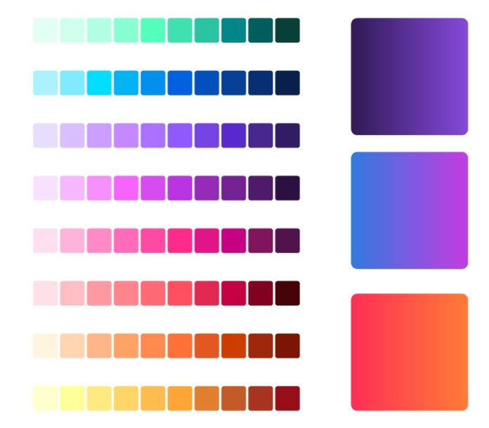 Firefox design colors
