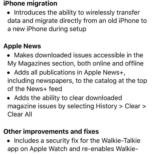 Apple Releases iOS 12.4 for iPhone with Migration Tool, Apple News+ Improvements & More