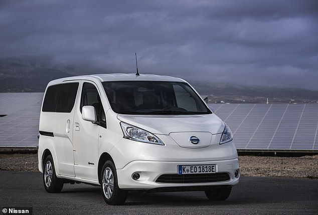 The e-NV200 makes it into the list, mainly because is the only electric vehicle offering the option of 7 seats