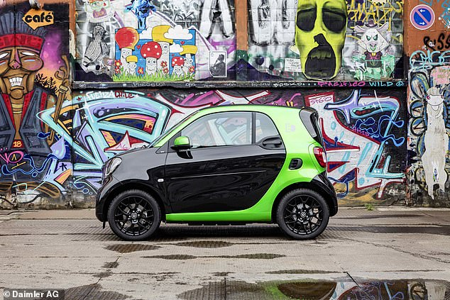 The standard Smart Fortwo is the slowest depreciating of the three models. It's also the most popular