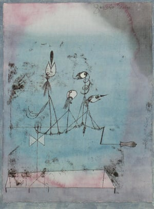 Twittering Machine, 1922, by Paul Klee.