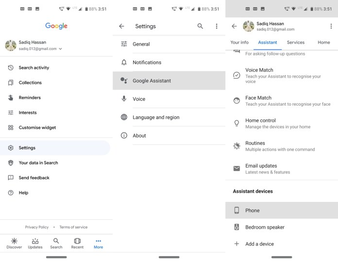 google app assisatnt