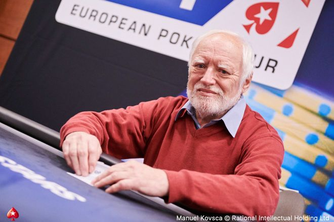 'Hide the Pain Harold' made an appearance at EPT Prague.