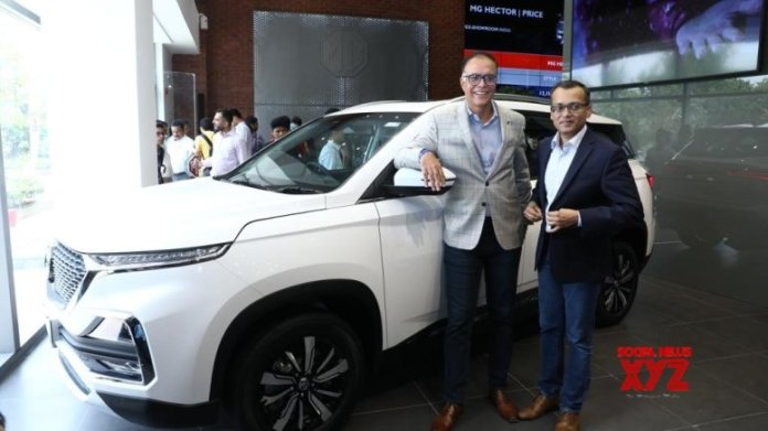MG Motors' launches electric internet SUV 'ZS EV' in India