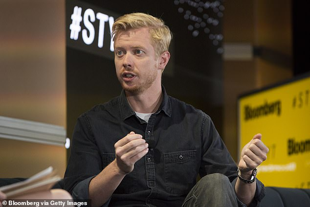 CEO and co-founder of Reddit Steve Huffman (pictured) called Tik Tok 'fundamentally parasitic' and urged people not to install 'that spyware on your phone' at a Silicon valley panel meeting