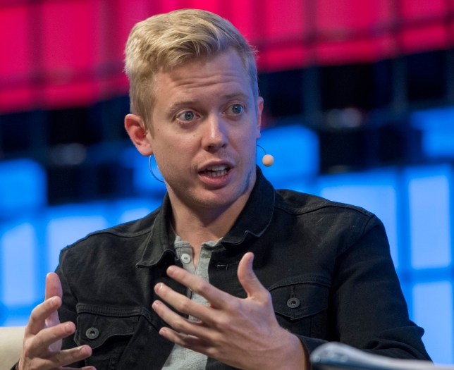 "LISBON, PORTUGAL - NOVEMBER 08: Steve Huffman CEO, Reddit, delivers remarks on ""Redesigning Reddit"" during the third day of Web Summit in Altice Arena on November 08, 2017 in Lisbon, Portugal. Web Summit (originally Dublin Web Summit) is a technology conference held annually since 2009. The company was founded by Paddy Cosgrave, David Kelly and Daire Hickey. The topic of the conference is centered on internet technology and attendees range from Fortune 500 companies to smaller tech companies. This contains a mix of CEOs and founders of tech start ups together with a range of people from across the global technology industry, as well as related industries. This year's edition, starting on November 06, is the second to be held in Lisbon and will congregate almost 60,000 participants. (Photo by Horacio Villalobos - Corbis/Getty Images)"