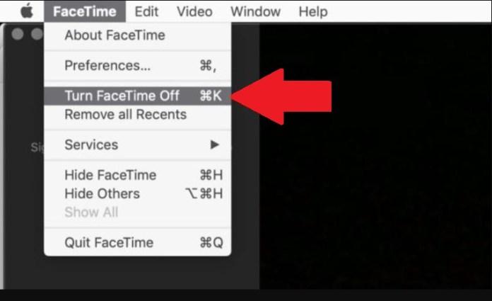 facetime off