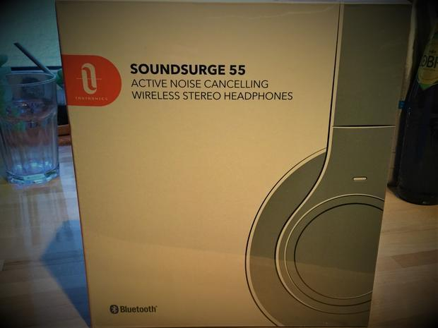 Soundsurge 55 headphones  which come with a Sony digital noise cancellation chip.