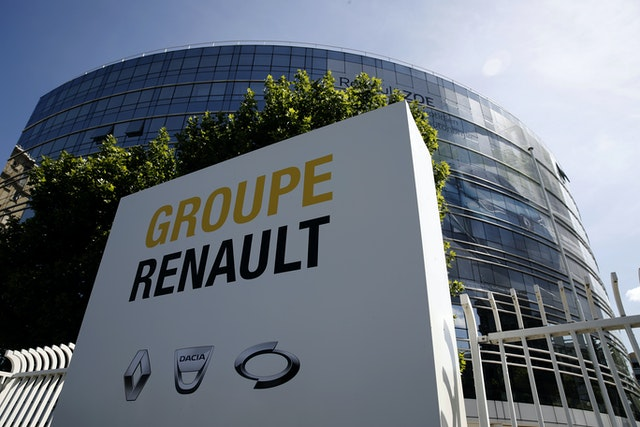 Virus Outbreak France Car Industry Rescue