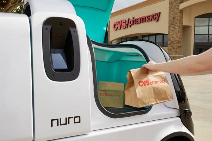 Nuro CVS deliveries