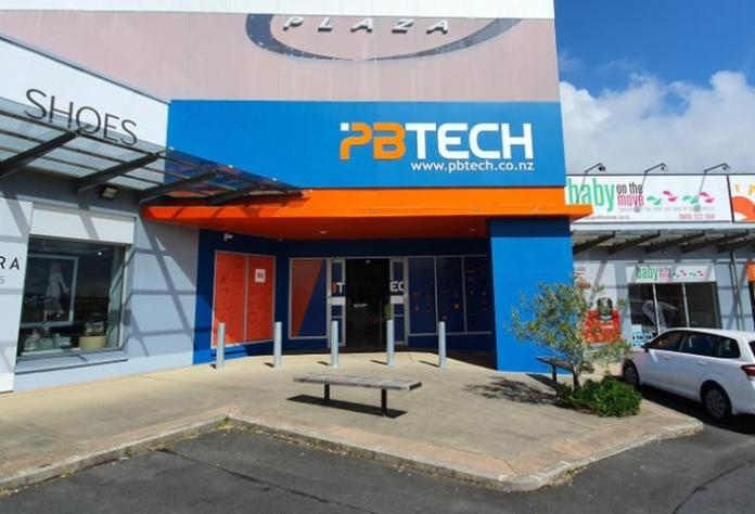 PB Tech's Albany store