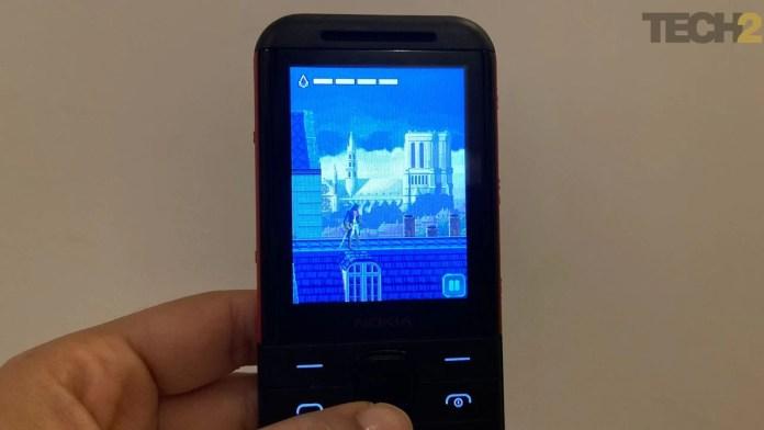 Assassin's Creed on Nokia 5310. Image: tech2/Nandini Yadav
