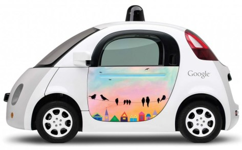 Tech News Google Self Driven Car