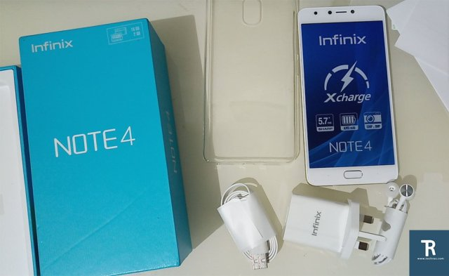 Infinix Note 4 Review