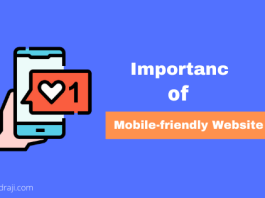 Importance of Mobile-friendly Website