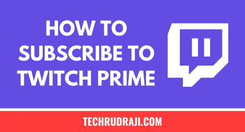 how to subscribe to twitch prime