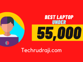 Best laptop under 55000