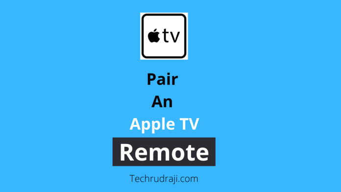 how to pair an apple tv remote