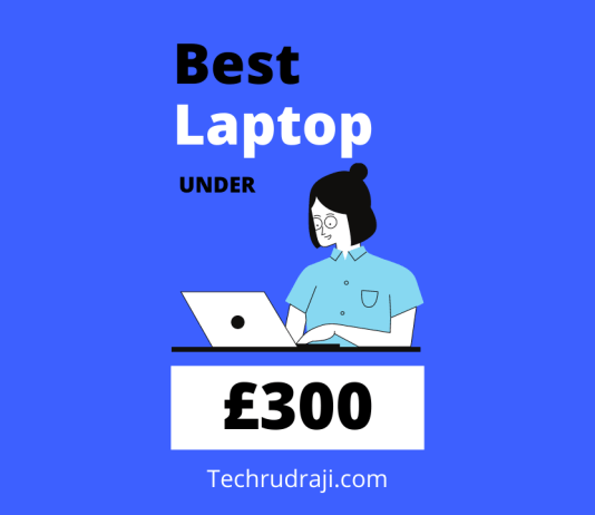 best laptop under £300
