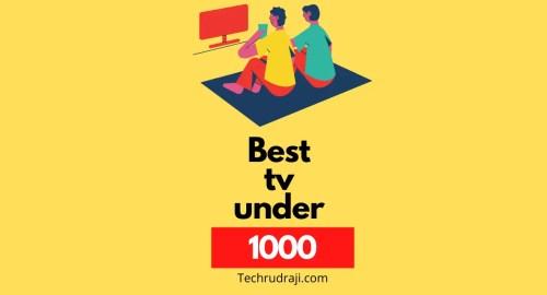 best tv under £1000 uk