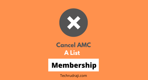 how to cancel amc a list membership