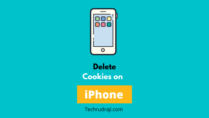 how to delete cookies on iphone