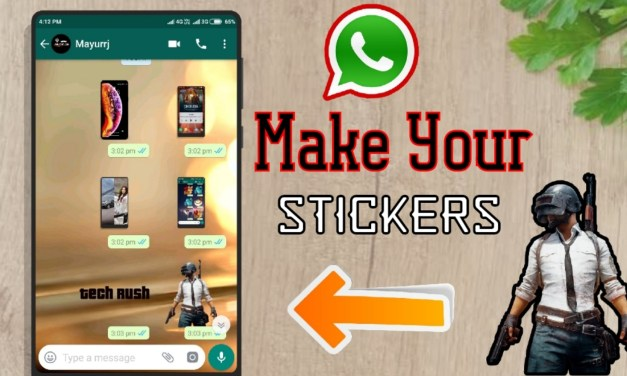 How to make your sticker in whatsapp