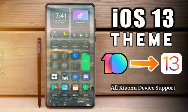 iOS 13 new xiaomi themes now available on theme center