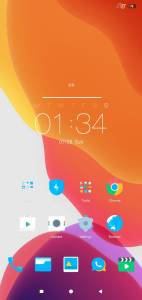 MSimply home screen MiUi themes on techrushi.com