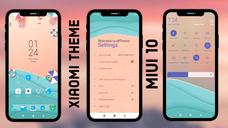 MStress Relief MIUI 10 Theme Download For Xiaomi Device
