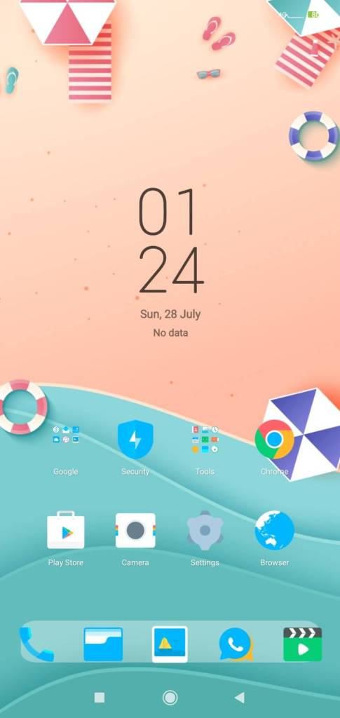 MStress Relief home screen MiUi themes on techrushi.com