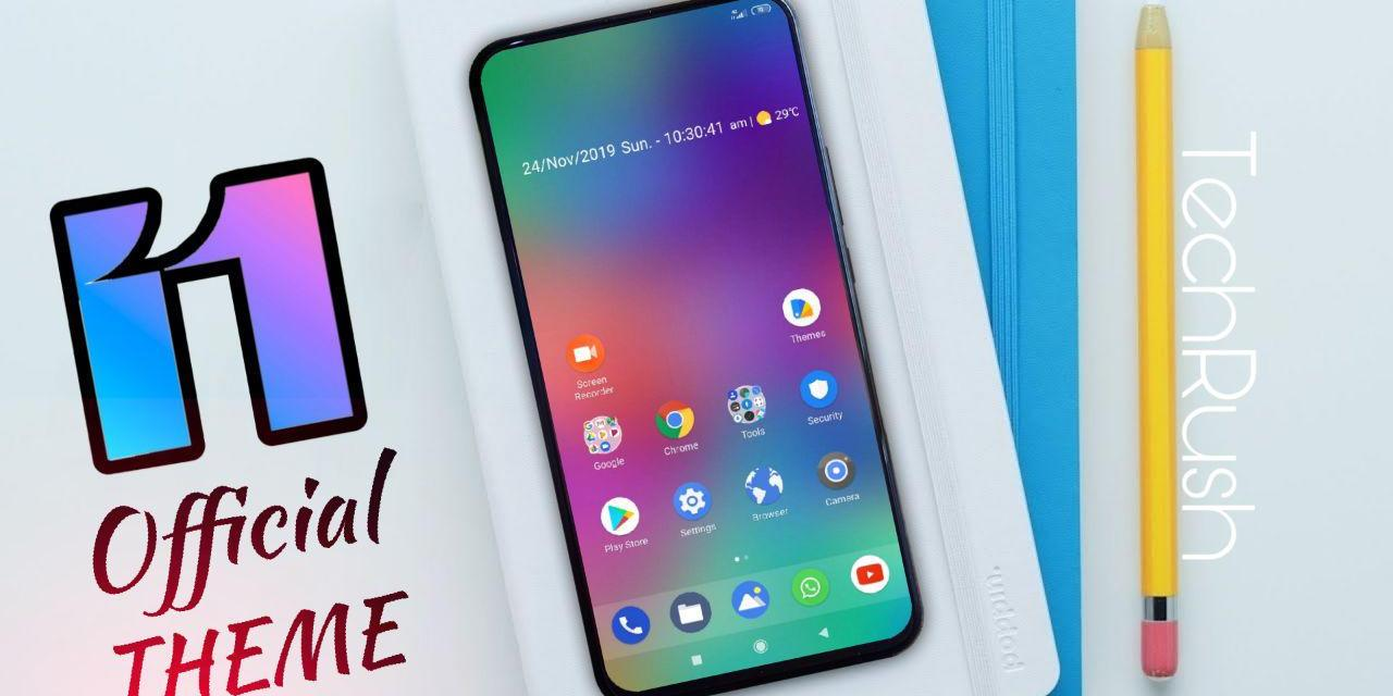 Download MiUi 11 Official THEME
