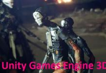 Unity Games Engine 3D
