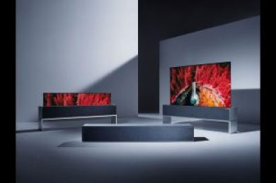 A Revolutionary TV-LG's Rollable OLED TV