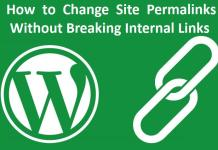 How to Change Site Permalinks Without Breaking Internal Links