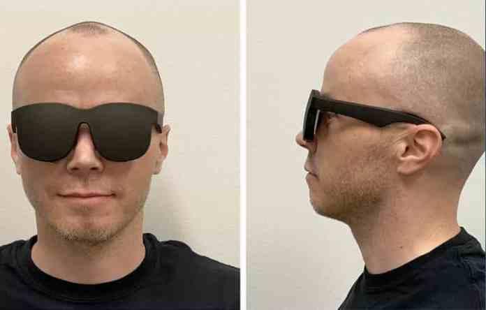 vr headset social media giant claims holographic optics vr social media giant