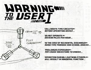 Flux Capacitor Warning - Part 1