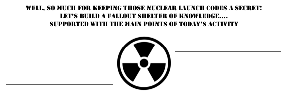 nuclear fallout exit slip