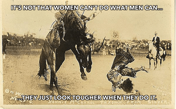 women tougher than men meme