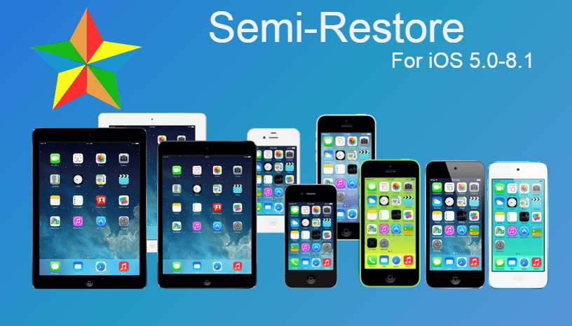 Semi-Restore disponibile per iOS 8.X
