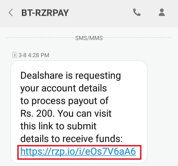 How To Redeem Dealshare AppRefer And Earn text message
