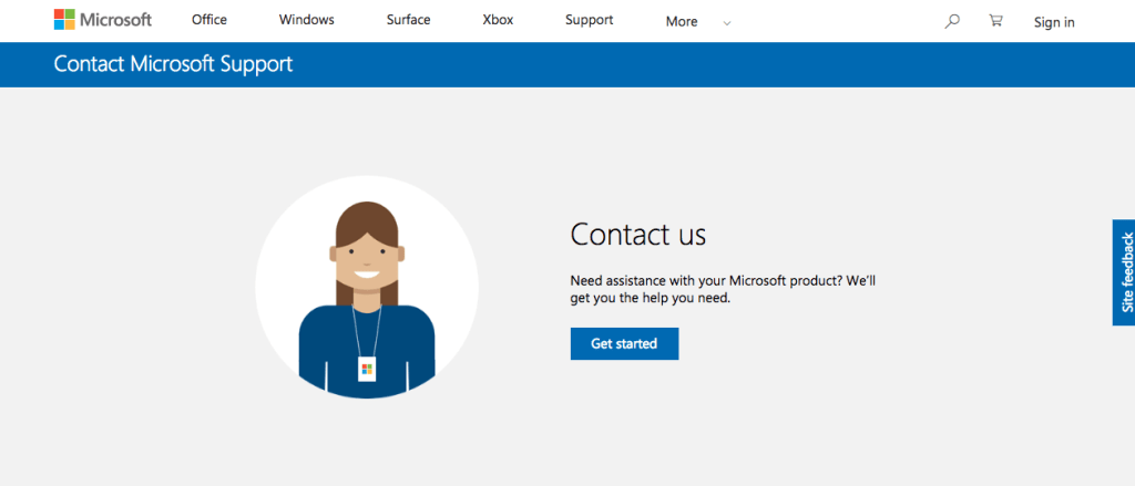 Hotmail Support Contact