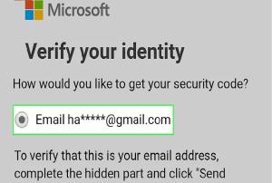 hotmail forgot password
