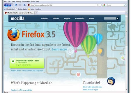 Now surfing the Internet through Mozilla Firefox has become smoother and