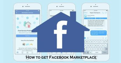 How to get Facebook Marketplace - Facebook Trade Platform
