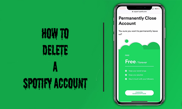 How to Delete a Spotify Account