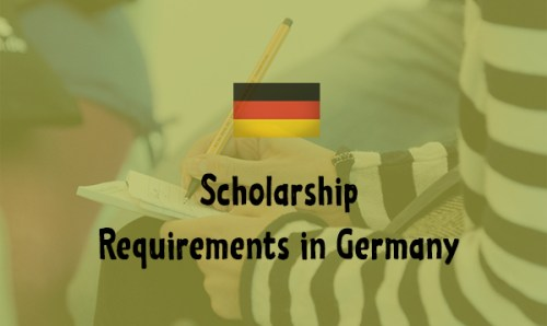 Scholarship Requirements in Germany