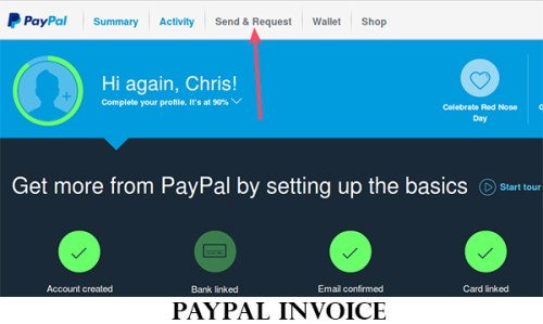 PayPal Invoice